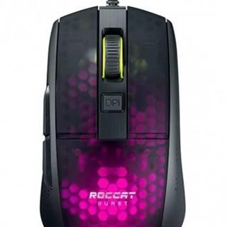 Herná myš Roccat Burst Pro, 68 g, 16000 dpi, čierna