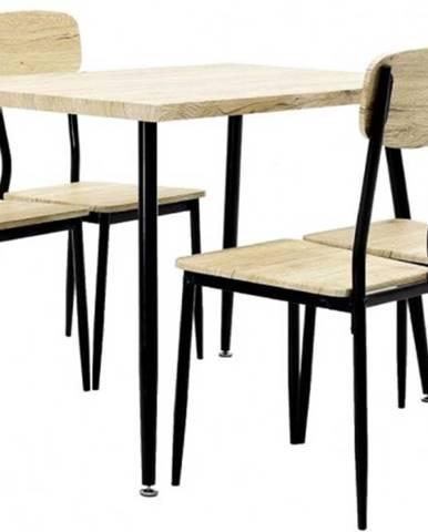 Jedálenský set Roxy - 4x stolička, 1x stôl