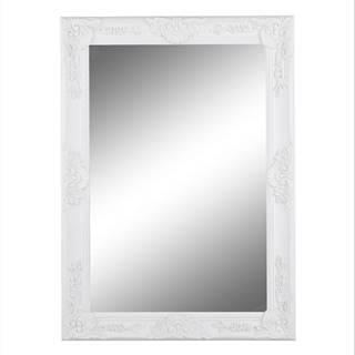 Zrkadlo biely rám MALKIA TYP 9