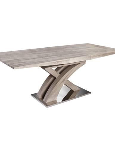 Jedálenský stôl dub sonoma BONET TYP 2 rozbalený tovar