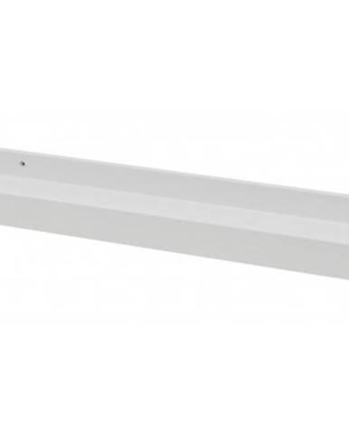 Nástenná polica s rámom Duraline 60 cm, biela%