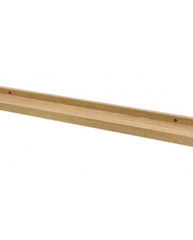 Závesná polička Duraline 80 cm, dub sonoma%