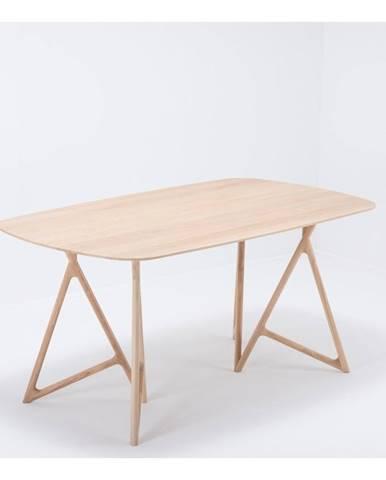 Jedálenský stôl z masívneho dubového dreva Gazzda Koza, 180×90cm