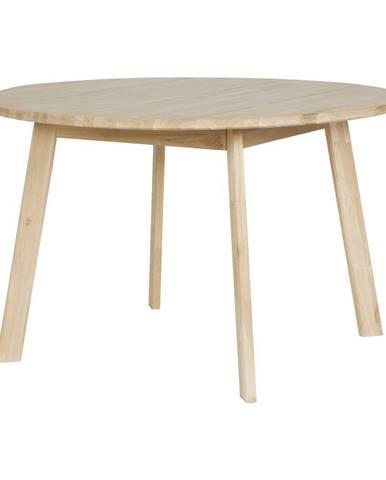 Jedálenský stôl z dubového dreva WOOOD Disc, Ø 120cm