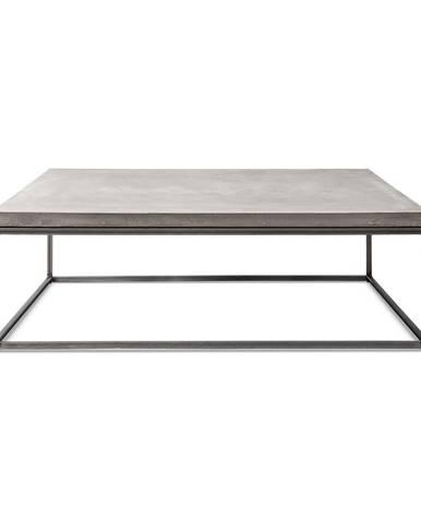 Betónový konferenčný stôl Lyon Béton Perspective, 100 x 100 cm