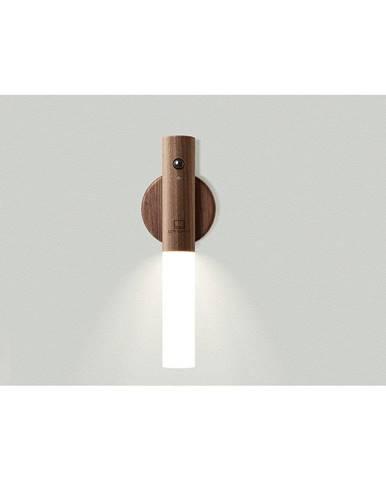 Drevená univerzálna lampa Gingko Baton Walnut