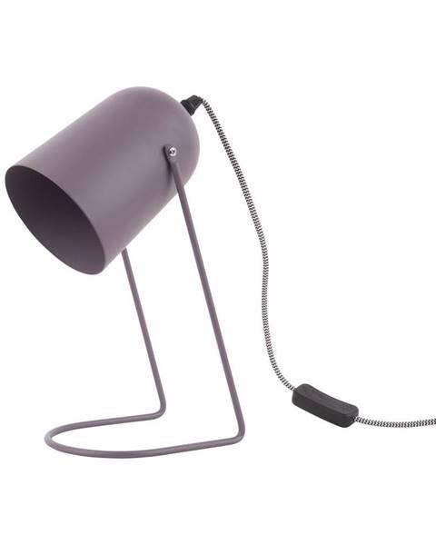 Leitmotiv Fialová stolová lampa Leitmotiv Enchant
