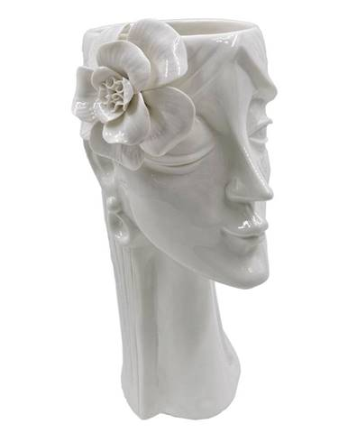 Biela porcelánová váza Mauro Ferretti Woman