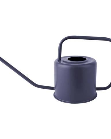 Modrá kovová kanva na polievanie PT LIVING Cap, výška 18 cm