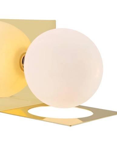 Nástenné svietidlo v zlatej farbe Markslöjd Zenit