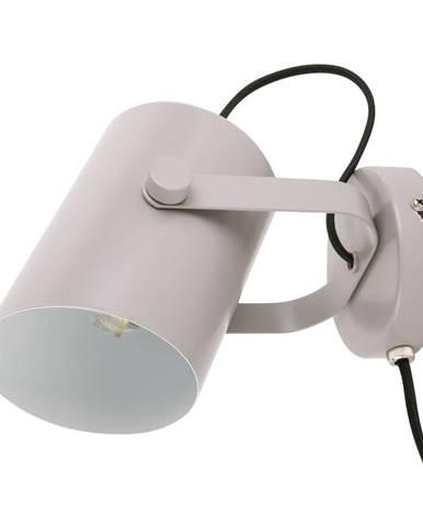 Sivá nástenná lampa Leitmotiv Snazzy