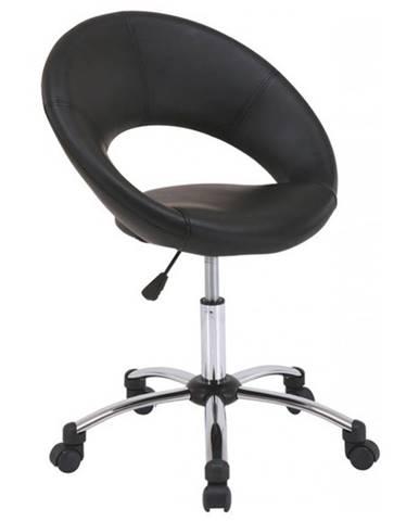 Otáčacia stolička VAIO čierna/čierny šev