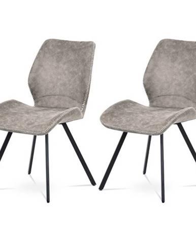Sada jedálenských stoličiek ANNIE 2 ks, hľuzovková