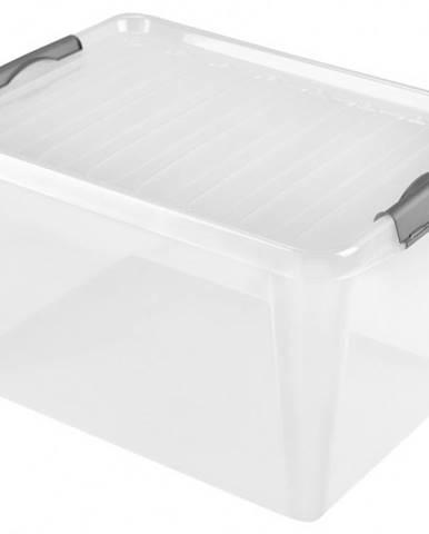 Úložný box s vekom Heidrun HDR605, 31l, plast