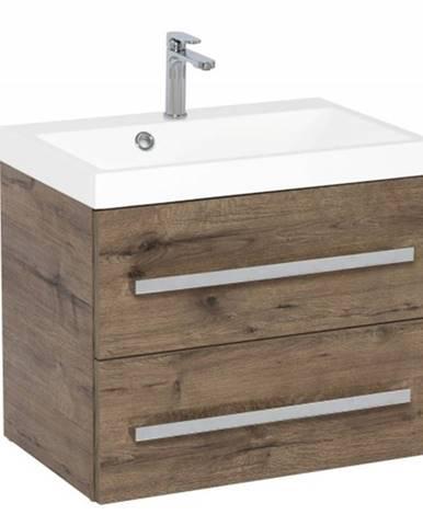 Kúpeľňová skrinka s umývadlom Tiera závesná