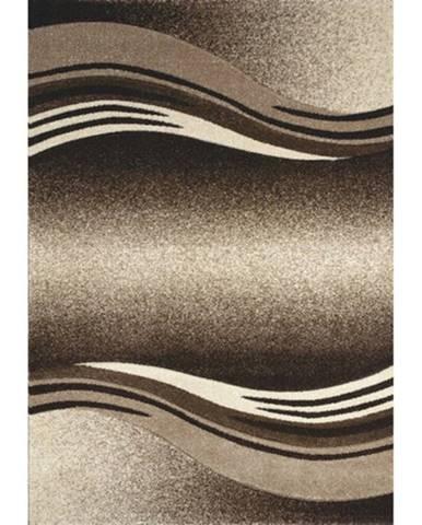 Spoltex Kusový koberec Enigma 9358/01 brown, 160 x 230 cm