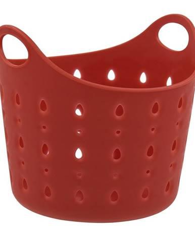 Plastový kôš Cubal Libra,  12 x 11 x 11 cm, červená