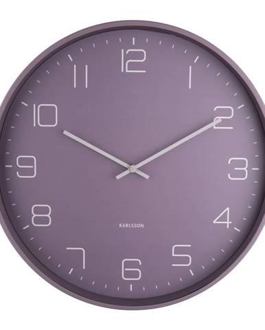 Karlsson 5751PU dizajnové nástenné hodiny, pr. 40 cm