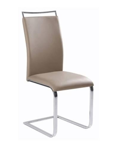 Jedálenská stolička  svetlohnedá BARNA NEW rozbalený tovar