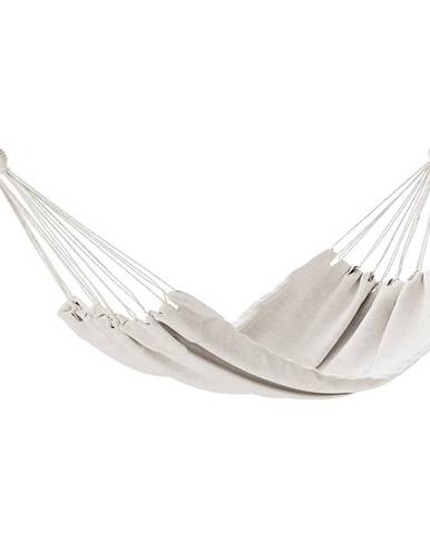 AmeliaHome Hojdacie závesné ležadlo Colada béžová, 240 x 80 cm