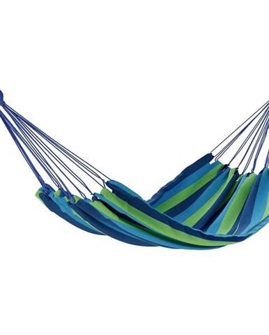 AmeliaHome Hojdacie závesné ležadlo Colada modrozelená, 240 x 80 cm