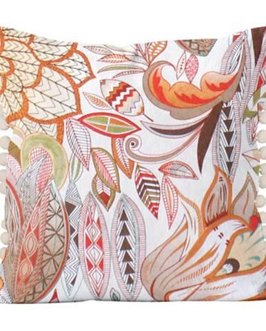 Domarex Vankúšik Alex Pola pomarančová, 40 x 40 cm