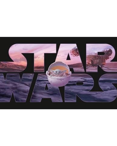 Jerry Fabrics Osuška Star Wars Mandalorian, 70 x 140 cm