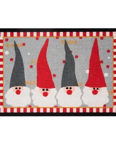 Rohožka Zala Living Christmas Gnomes, 40×60cm