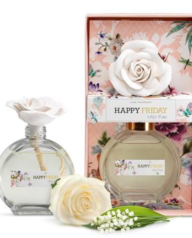 Difuzér s vôňou bielej ruže HF Living, 190 ml
