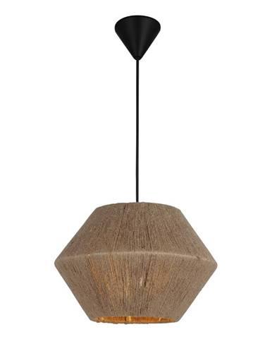 Čierno-béžové závesné svietidlo Homemania Decor Fero
