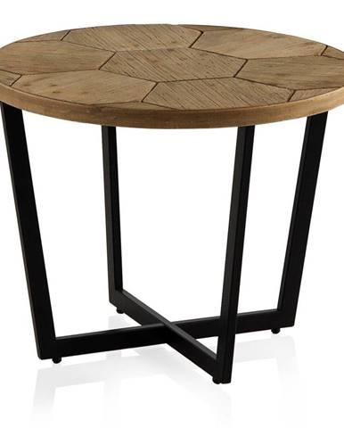 Konferenčný stôl s čiernou železnou konštrukciou Geese Honeycomb