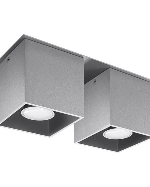Nice Lamps Sivé stropné svietidlo Nice Lamps Geo