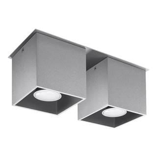 Sivé stropné svietidlo Nice Lamps Geo
