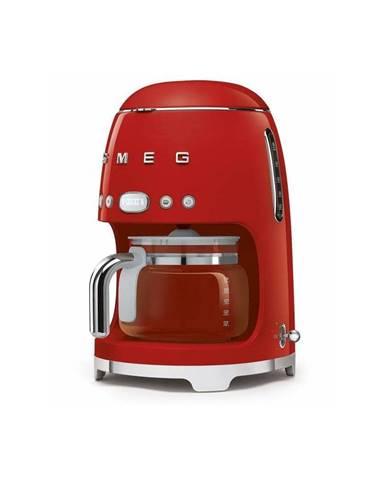 Červený kávovar na filtrovanú kávu SMEG 50&