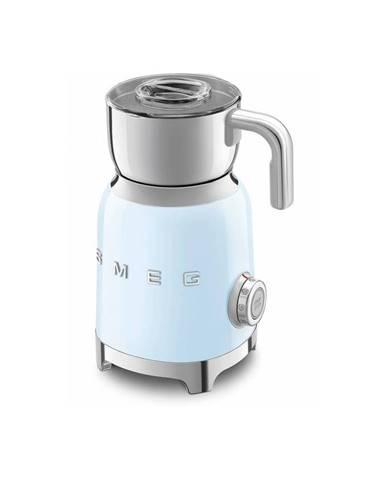 Svetlomodrý šľahač na mlieko SMEG 50&