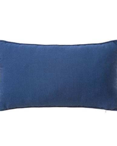 Modrý vankúš Unimasa Love, 30 x 50 cm