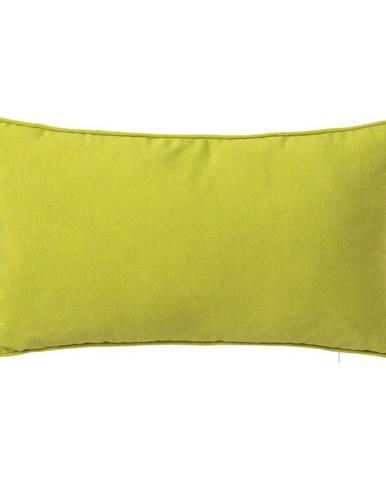 Zelený vankúš Unimasa Love, 30 x 50 cm