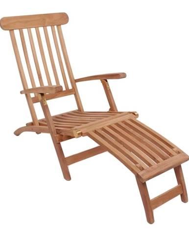 Ležadlo z teakového dreva HoNordic Arrecife