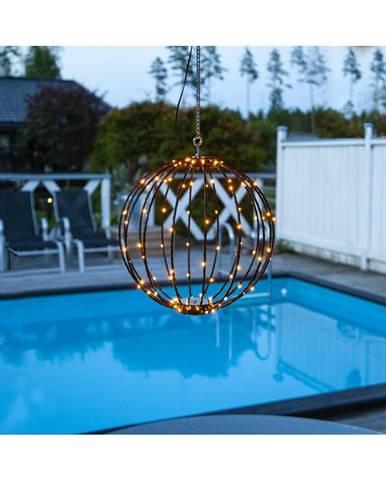 Vonkajšia závesná svetelná dekorácia Best Season Hanging Munty, ⌀ 30 cm