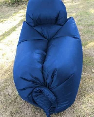 Nafukovací vak Bag LAZY 140x75 cm, modrý