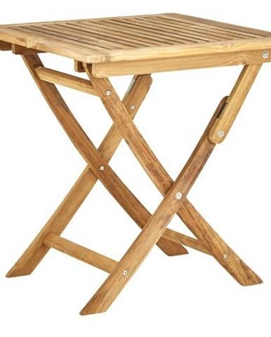 Záhradný sklápací stolík CAMBRIDGE A teakové drevo