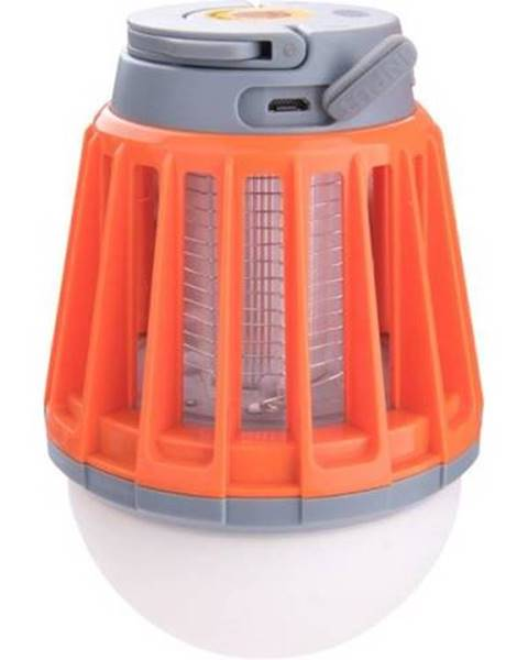 Kinekus Svietidlo 3x1W SMD LED s lapačom komárov, 180lm, 4x60mW ultrafialová LED, IPX6