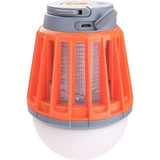 Svietidlo 3x1W SMD LED s lapačom komárov, 180lm, 4x60mW ultrafialová LED, IPX6