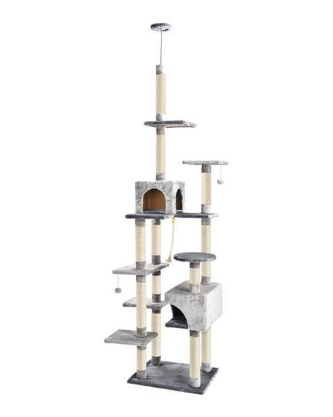 Domarex ALDO Škrabadlo pre mačky do stropu Miky 60x49x250-273 cm