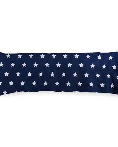 4Home Obliečka na Relaxačný vankúš Náhradný manžel Stars Navy Blue