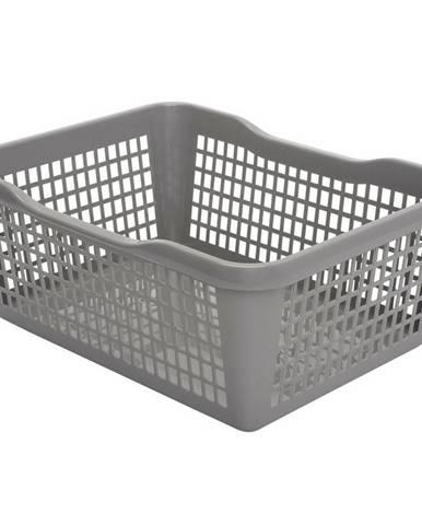 Aldo Plastový košík 41,9 x 32 x 16,8 cm, sivá