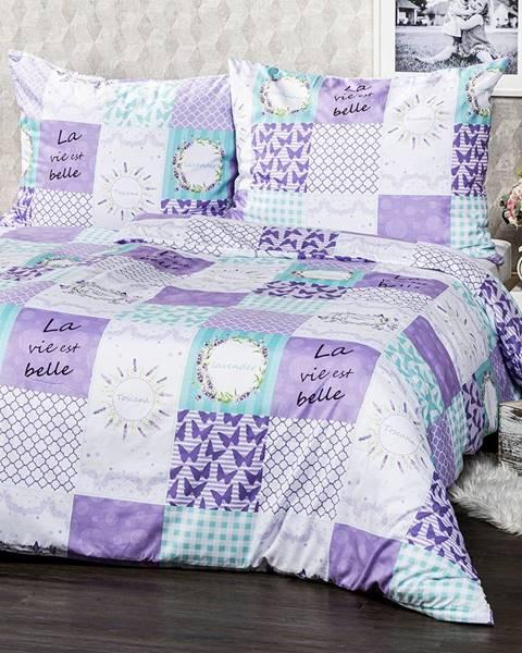 4Home 4Home Obliečky Lavender micro, 160 x 200 cm, 70 x 80 cm