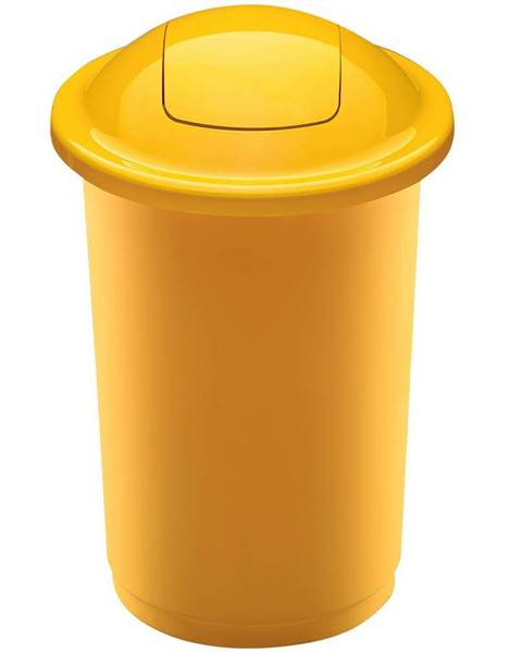 Berlinger Haus Aldo Odpadkový kôš na triedený odpad Top Bin 50 l, žltá