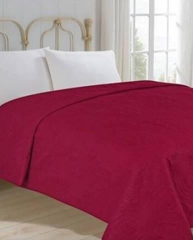 Jahu Prehoz na posteľ Royal vínová, 220 x 240 cm