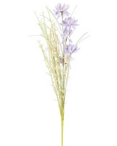Umele lúčne kvetiny 50 cm, fialová